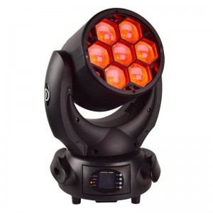 LIGHT4ME ROBO ZOOM WASH 740 głowa ruchoma LED RGBW