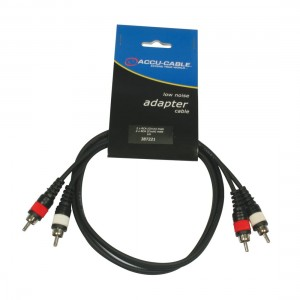 AC-R/1 RCA cable 1m (cinch)