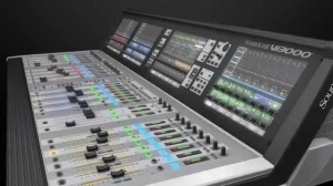 SOUNDCRAFT Vi3000 + CASE +STAGE BOX 64/32